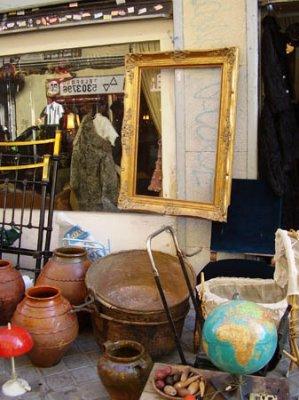 El rastro de madrid for Mercadillo muebles madrid