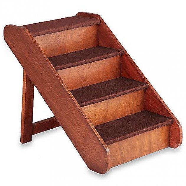 Como evitar que crujan los escalones de una escalera de madera - Peldanos para escaleras ...