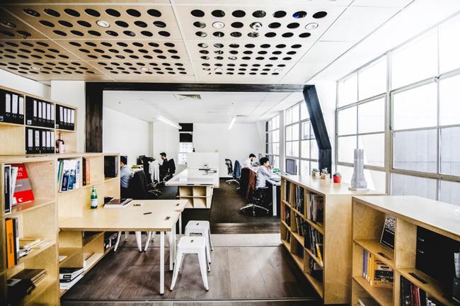 Decorar un estudio de arquitectos for Trabajo de arquitecto